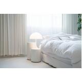 cortina branca quarto