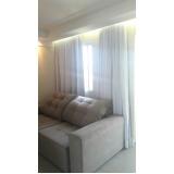 cortina branca sala