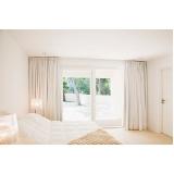 cortina branca para quarto valores Lapa