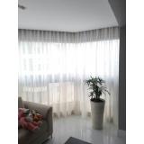 cortina branca para quarto Itaim Bibi