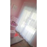 cortina branca quarto Vila Leopoldina