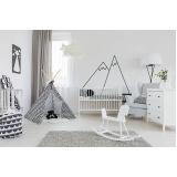 cortina grande para quarto de bebê