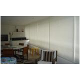 cortina persiana para sacada