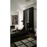 cortina persiana preta