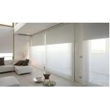 cortina rolô para sala valores Campo Limpo