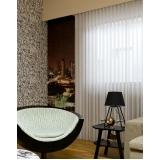 cortinas brancas para escritório Vila Sônia
