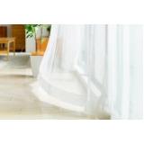 cortinas brancas para quarto Jardim Paulista