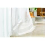 cortinas brancas para sala Rio Pequeno