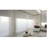 cortinas rolô branca Embu das Artes