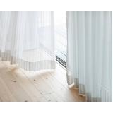 empresa que faz cortina branca sob medida Poá