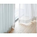 onde comprar cortina branca para sala Jardins